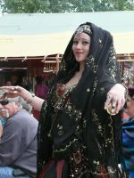 Ren Faire Belly Dancer by gryphonlady