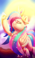 Flutterlestia by thediscorded