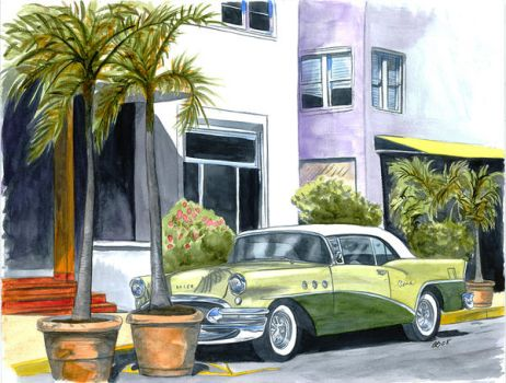 Buick in Miami by ab39z