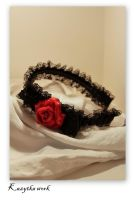 Goth headband by Nerisa