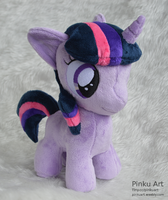 Twilight Sparkly filly plush by PinkuArt