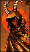 The Witch of Assyria by CanisAlbus