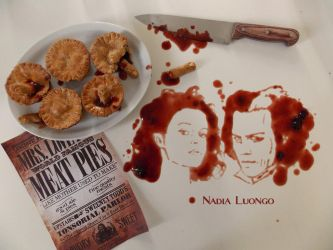 Mrs Lovett's meat pies by NadienSka