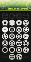 26 Gear Shapes by sarthony