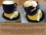 Coffee Cup Dessert from Viktor Benes Bakery by LuffyNoTomo