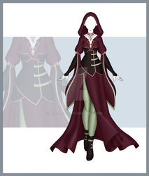 [Close] Adoptable Outfit Auction 168 by Kolmoys