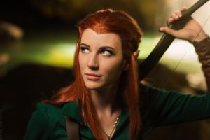 Tauriel - The Hobbit I by fiathriel