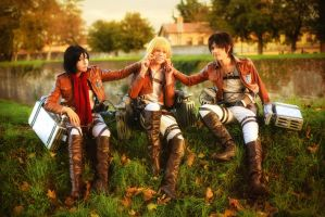 Happy Moments - Snk Cosplay by DakunCosplay
