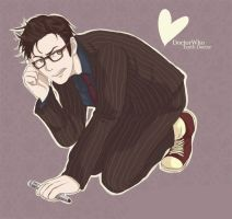 The Tenth Doctor by MR-Shepherd