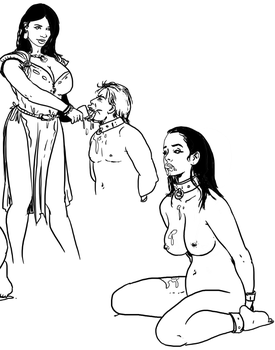 Cum for the captives (work in progress) by Slaverycomics