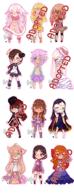 Random adopts 2 [PRICE REDUCED] by firiitan