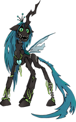 My Little Pony - Queen Chrysalis Animatronic by kaizerin