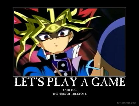 Yami Yugi, The Original Saw by lizabey