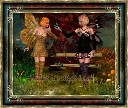Faeries and Butterflies by Jackie-Scottish-Lass