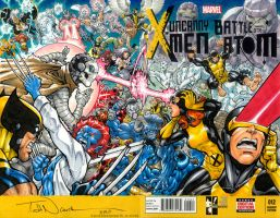 X-Men Hero Initiative 100 Project auction by ToddNauck