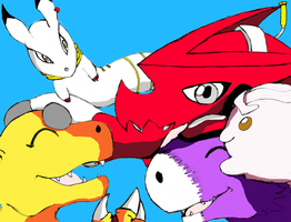 Digimon no Hi Digisoul Net by Zeromaru-x