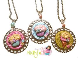Sweet Delicate Medallions by colourful-blossom