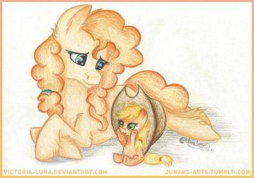 Day with Mommy by Victoria-Luna