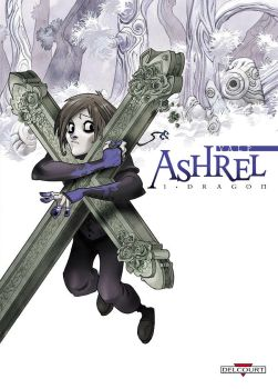 'Ashrel' tome 1 cover by Sally-Avernier