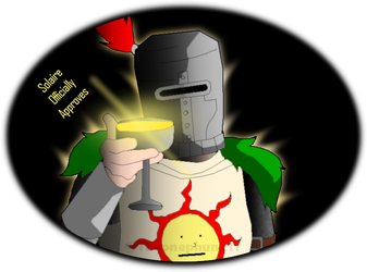 Solaire welcomes you by TheOnePhun211