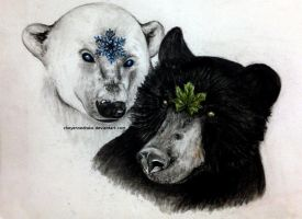 bears of nature. [2015] by CheyenneDrake