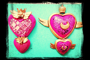 Sailor Moon Super S - brooches by Fai89