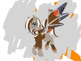 new MLP fan character by AbsentHavoc