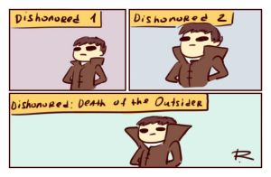 dishonored, doodles 41 by Ayej