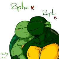 Raphie x Raph 1-4-16 by Nei-Ning