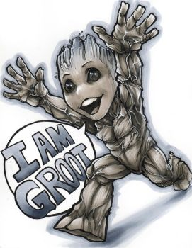Baby Groot Dragon Con 2017 by ComfortLove