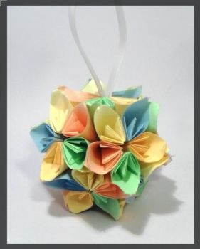 Kusudama Ball by Brubruja