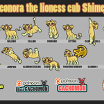 Leonora the lioness cub Shimeji [D/L] by Cachomon