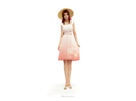 Aerith - Kasumi Dress (Download Link) by Cyan-Th