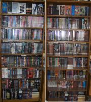 My Anime DVD BLU Collection by Kai-is-mine