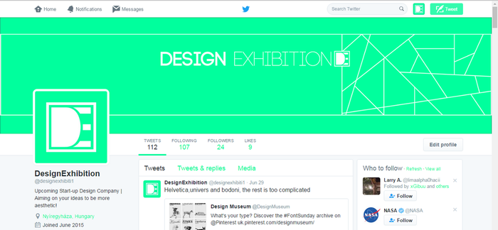 New Twitter Look by TaigaDS