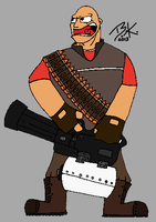 Heavy (Team Fortress 2) by Tangotacular