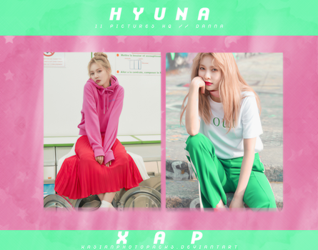 Photopack 3216 // HyunA. by xAsianPhotopacks