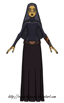 49. Barriss Offee (Stroking) by RayneTheQueen