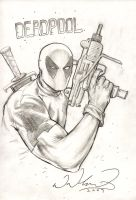 Deadpool Commission by FlowComa