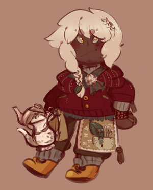 Cct Tea Witch by SugarSweetEclair