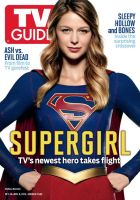 CBS's Supergirl TV Guide Magazine Cover by Artlover67