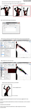 MMD Tutorial: How to fix Wiggly arms by dianita98