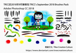 TRCC's September 2018 Brushes Pack (PS CC2018) by TReeCreationCulture