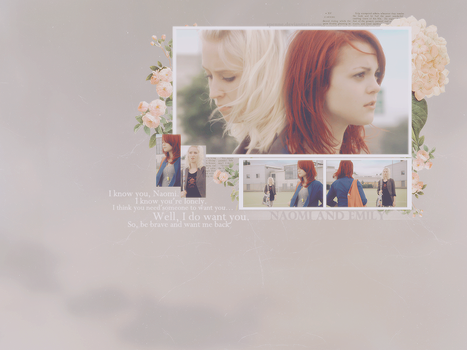 Skins - Naomi and Emily by Spenne