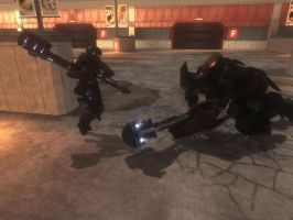halo odst take down by GhostHuckebein