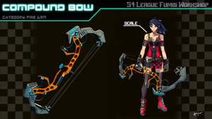 S4 League Weapon Concept: Compound Bow by SniperWolf87