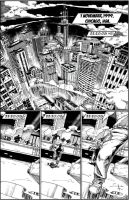 Life-Time #1 Pg 1 Lettered by Alf-Alpha