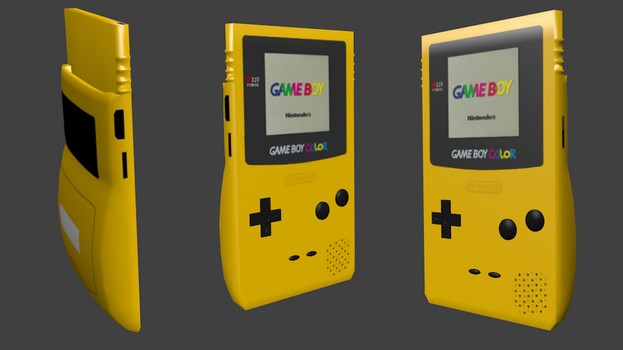 Game boy color by 0985