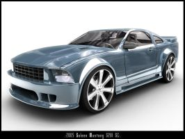 2005 Saleen Mustang S281 SC by CanisLoopus