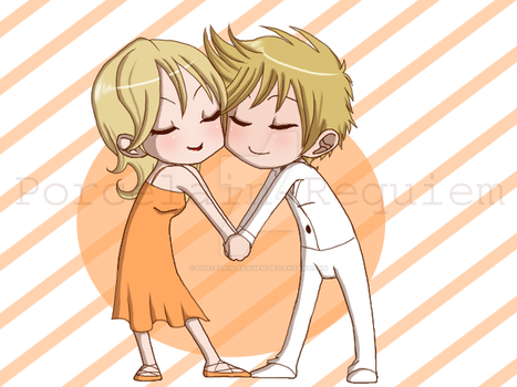 Orange and White Chocolate by Porcelain-Requiem